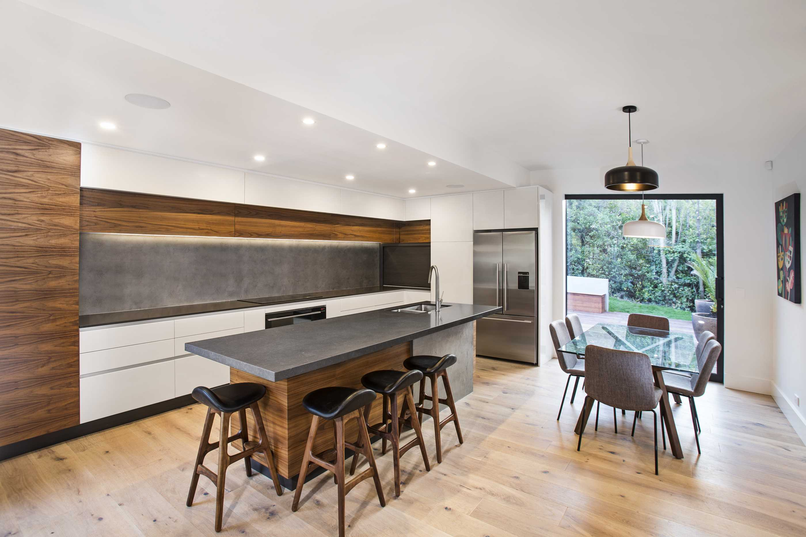 Sharing link successfully copied to clipboard paste it wherever you like dismiss prime natural veneer american walnut crown cut kitchen by modern
