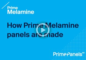 How Prime Melamine panels are made