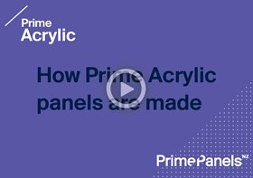How Prime Acrylic panels are made
